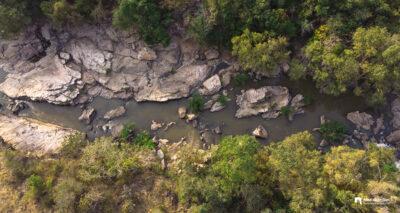 Pambar River Flowing through Chinnar Wildlife Sanctuary
